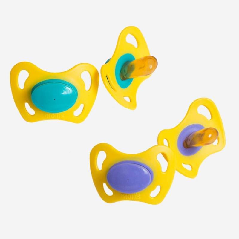 Schnuller Kautschuk ohne Ring