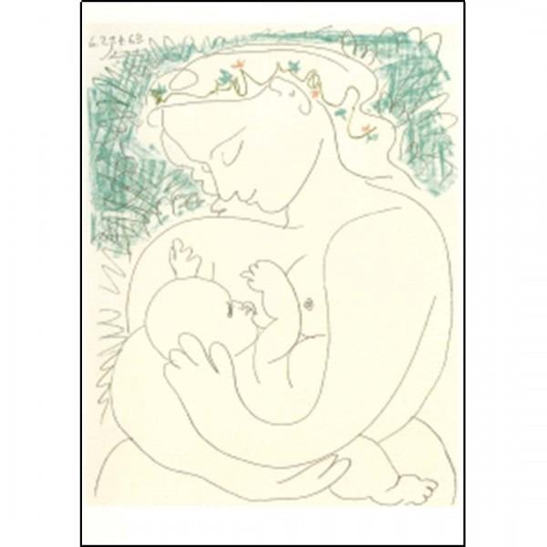 Postkarte Maternité