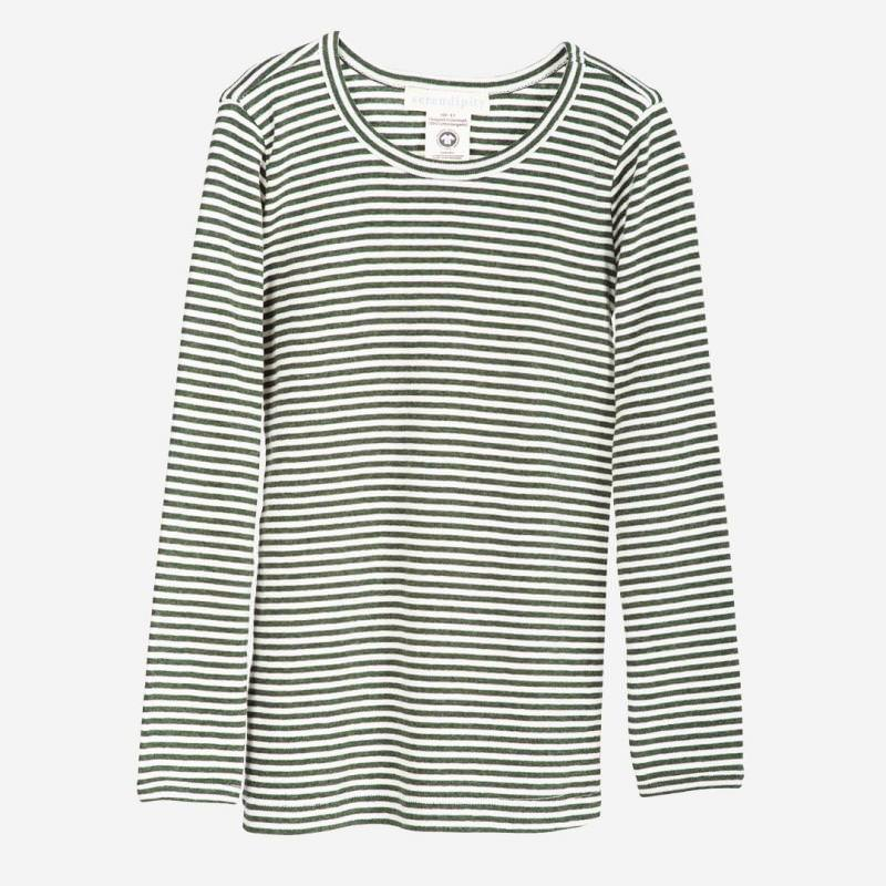 Slim Shirt pine-stripe