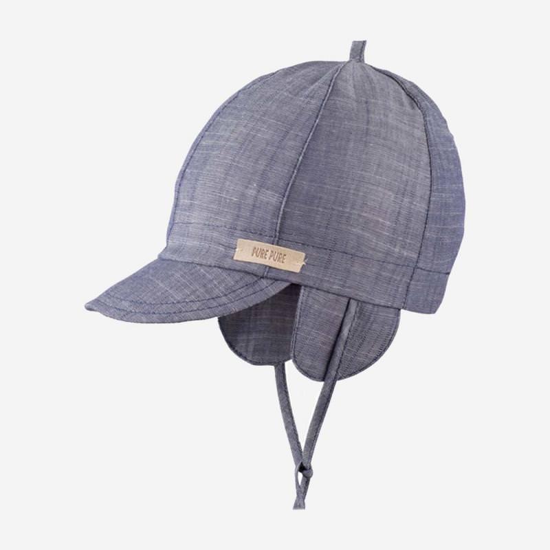 Schirmmütze jeansblau