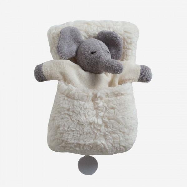 Elefant Spieluhr im Schlafsack