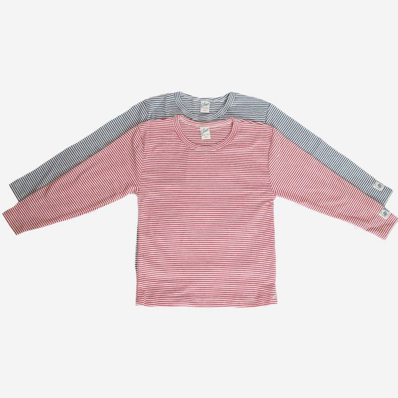 Shirt Ringel Baumwolle/Seide
