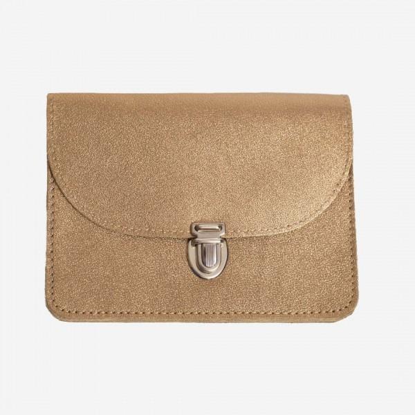 Portemonnaie Borsa gold-klein