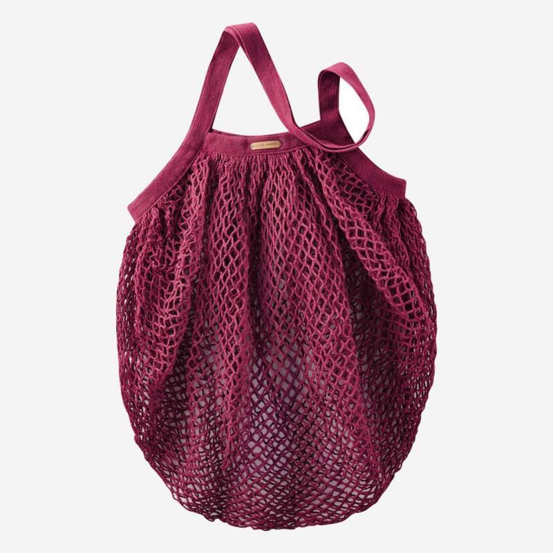 Netztasche aus Baumwolle red
