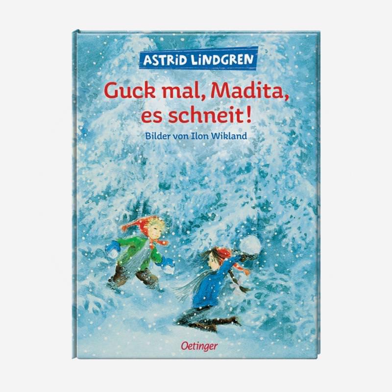 buch oetinger astrid lindgren guck mal, madita. es schneit 978-3-7891-6035-6