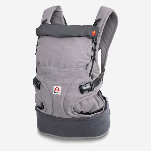 Babytrage Regular smokey grey