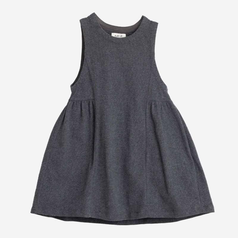 Kinder Jersey Kleid von Play up aus Bio-Baumwolle in flame melange