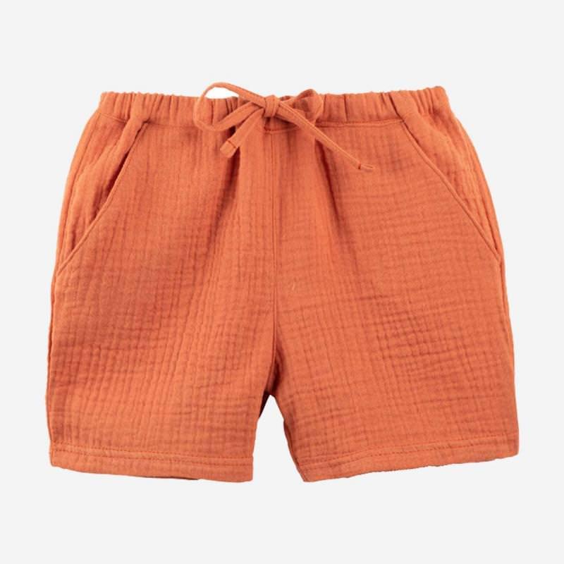 Musselin Shorts papaya