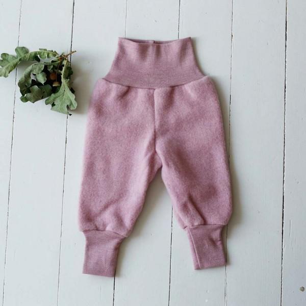 Babyhose Wollfleece rosenholz