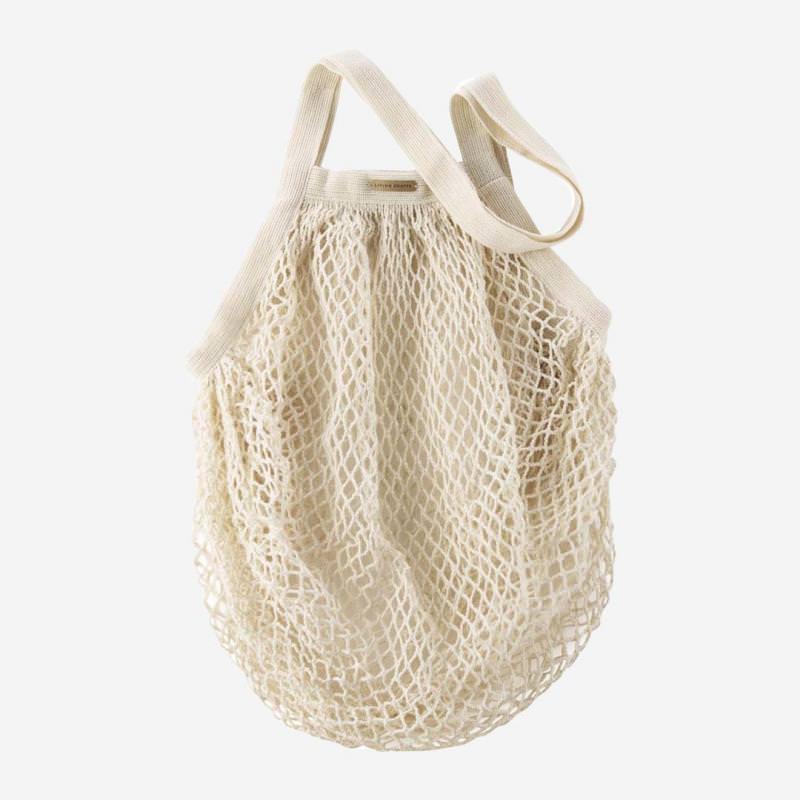Netztasche aus Baumwolle natur