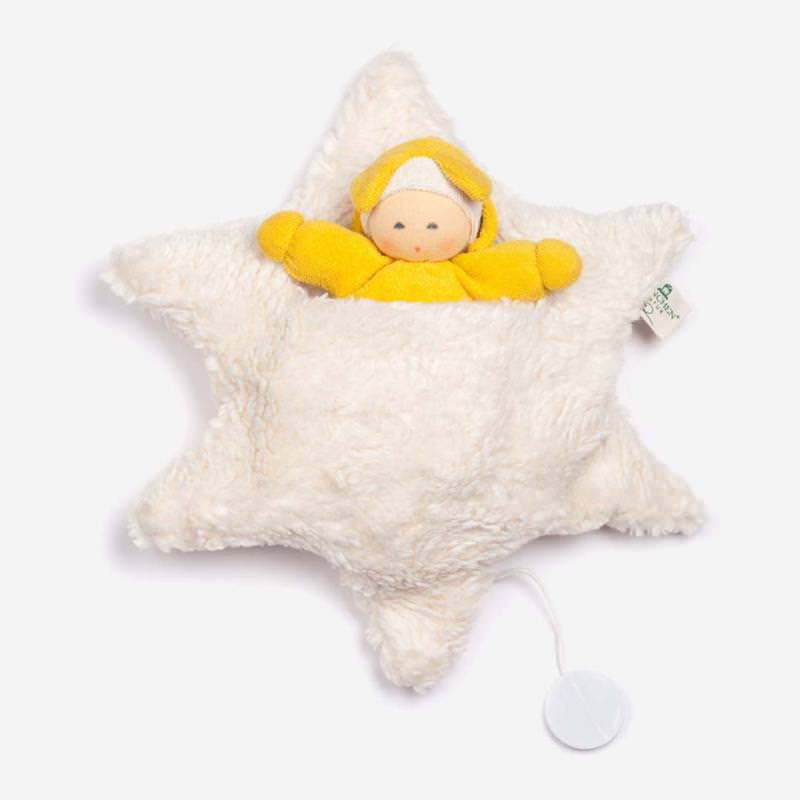 Sternenbett mit Spieluhr