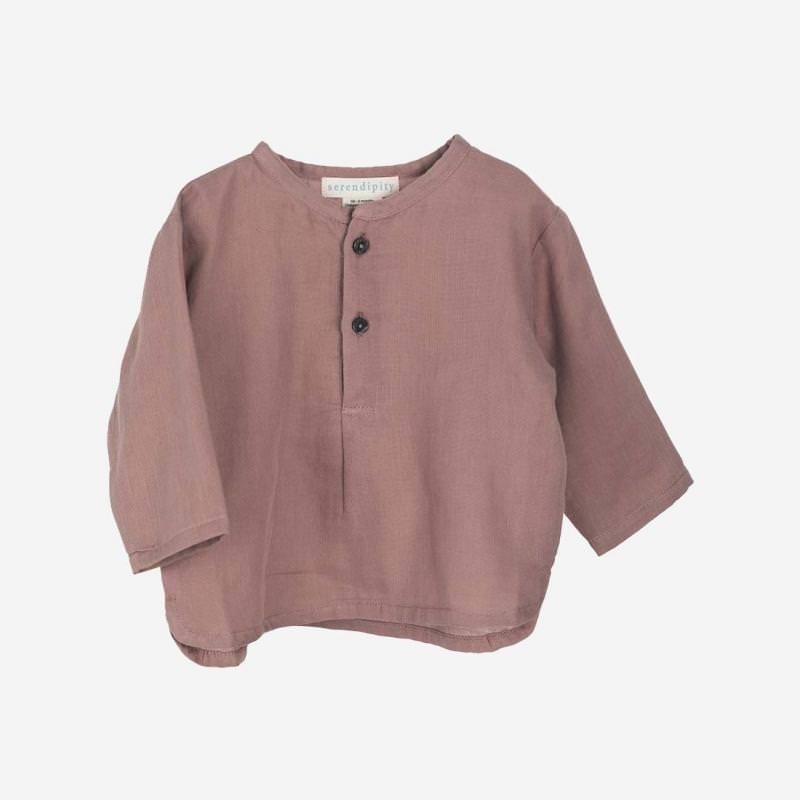 Baby Gauze Shirt heather
