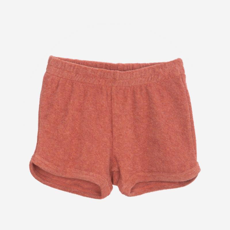 Shorts Frottee brick