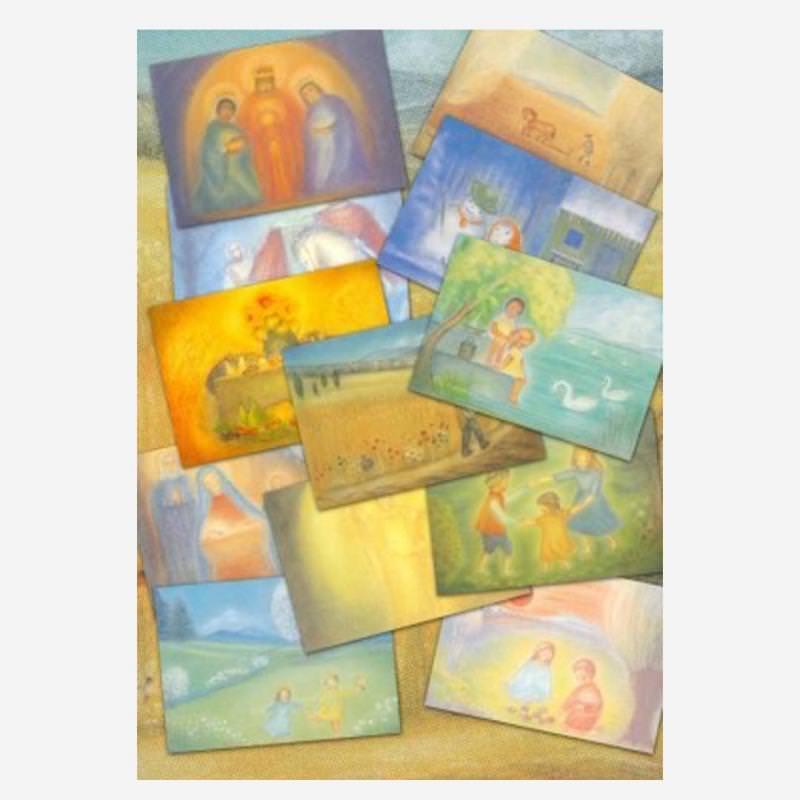 Monatskarten Set Elsässer