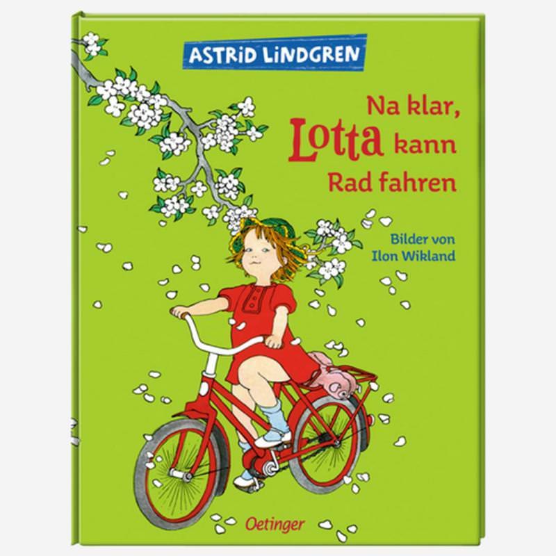 Buch Na klar, Lotta kann Rad fahren