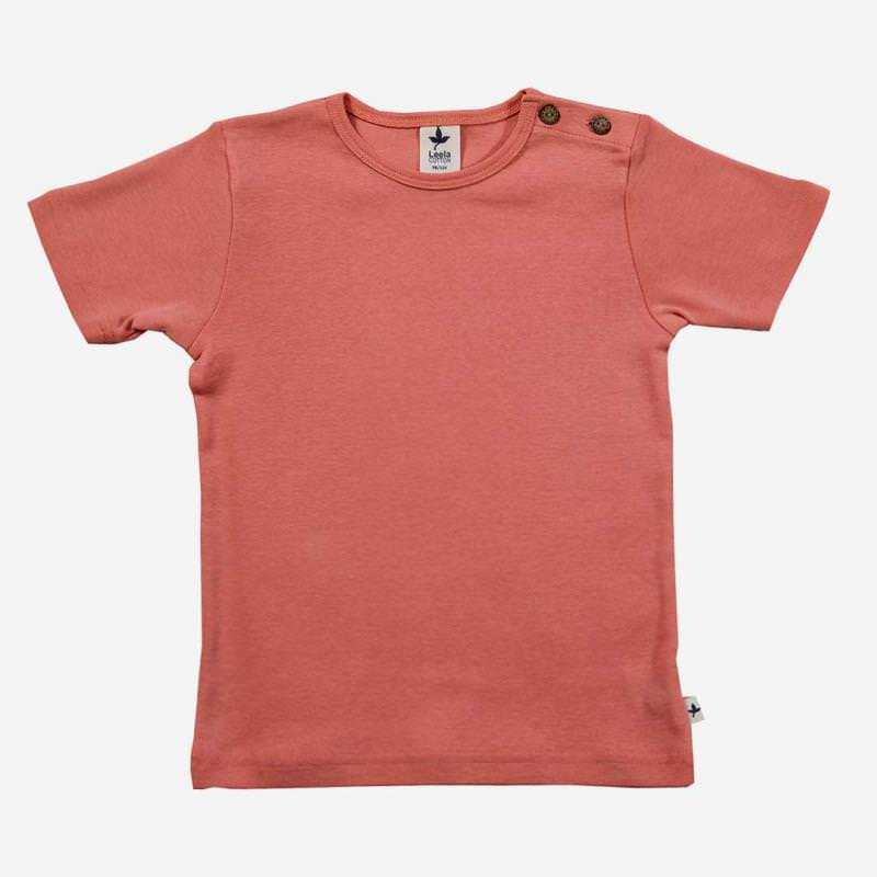 T-Shirt Baumwolle Aprikose