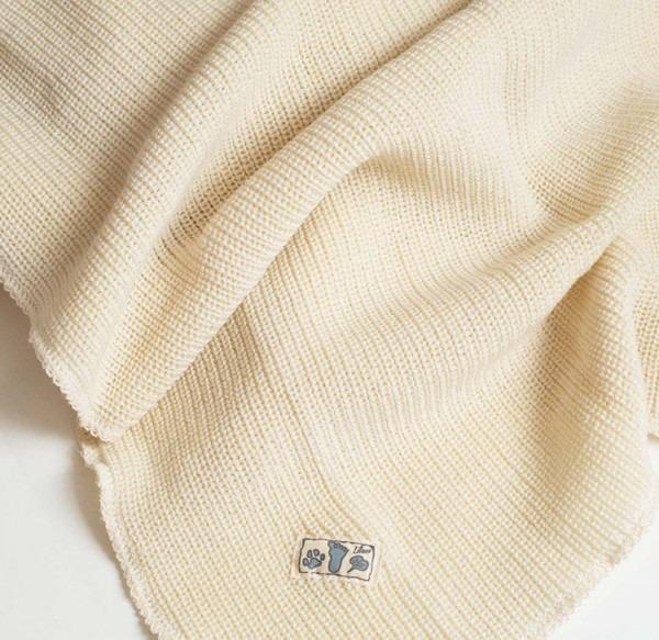 Babydecke Wolle