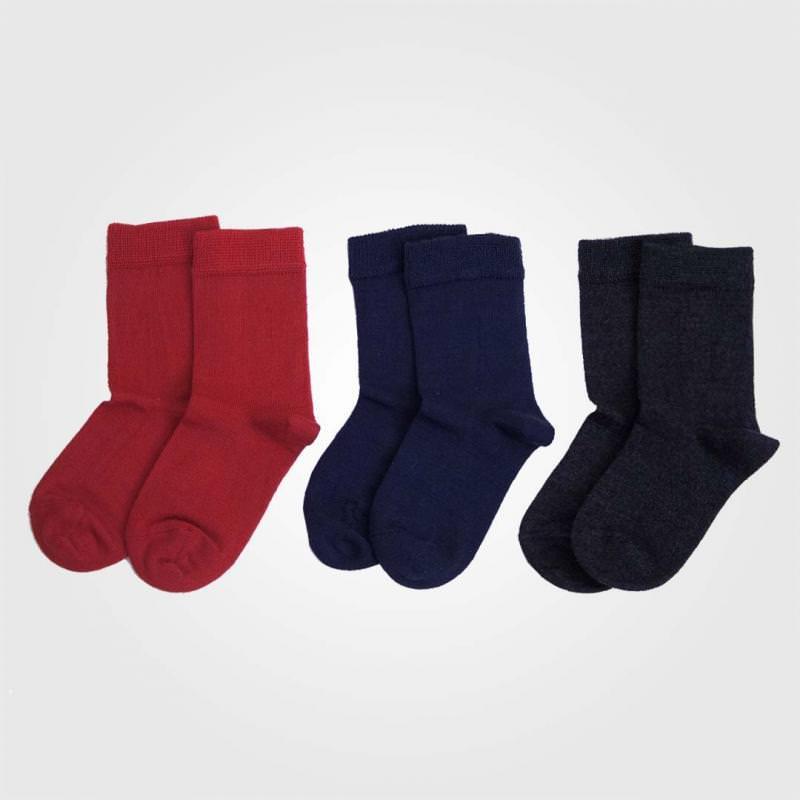 Socken Wolle/Baumwolle