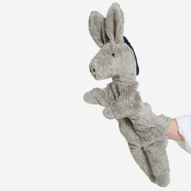 Handpuppe Esel