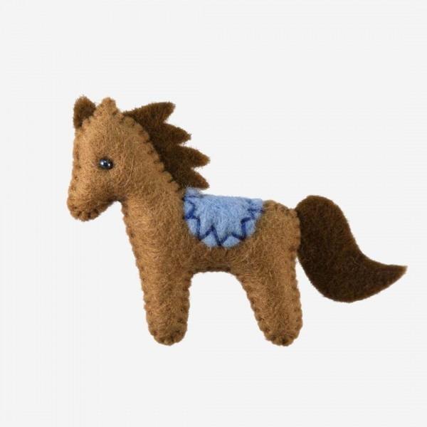 Kleine Filz Freunde Pony