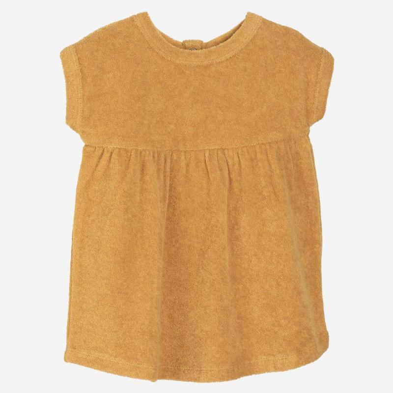 Baby Terry Dress honey