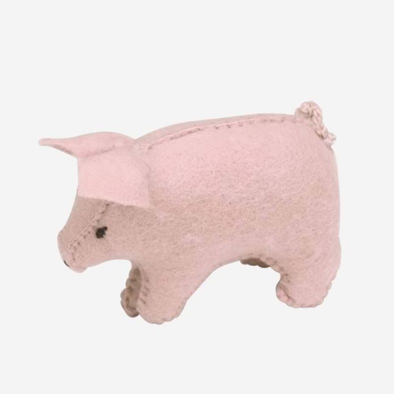 Filz Schweine