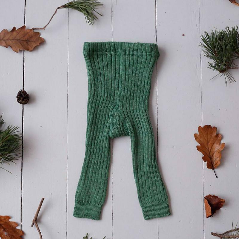 Leggings Wolle dusty green