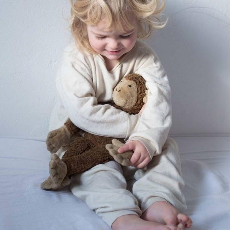 Schlafanzug Wolle/Seide