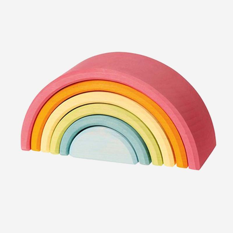 Regenbogen 6-teilig pastell