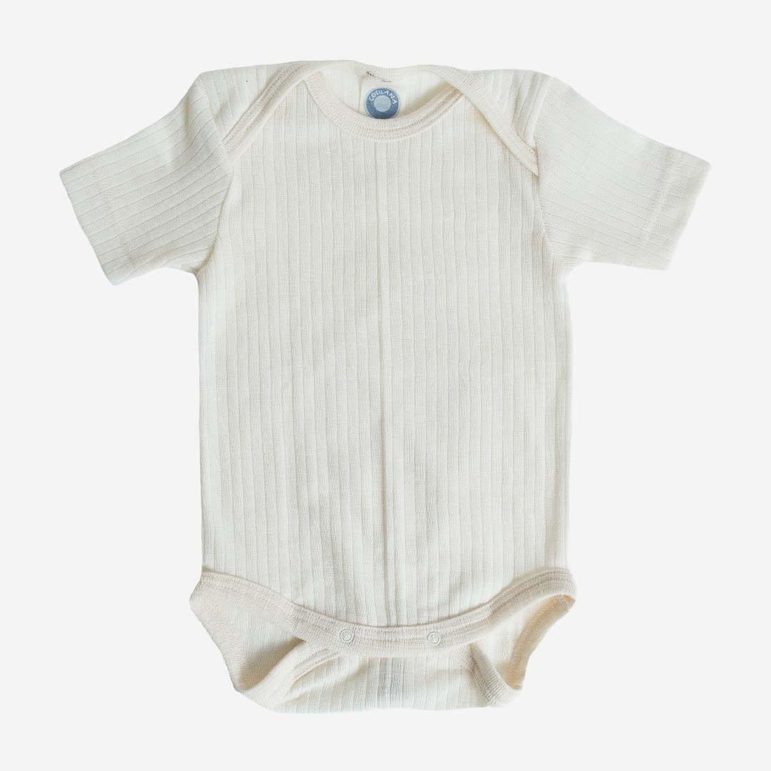 Baby Erstausstattung Unisex 3er Set Bodys  Weiß kurzarm Englandmode