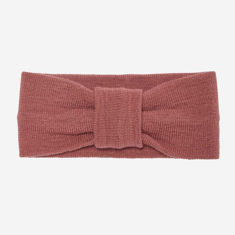 Stirnband aus Wolle coral