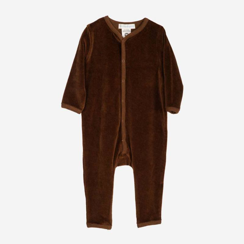 Baby Velour Suit caramel
