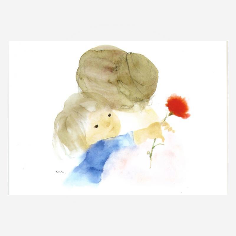 Mutter und Kind (C. Iwasaki)