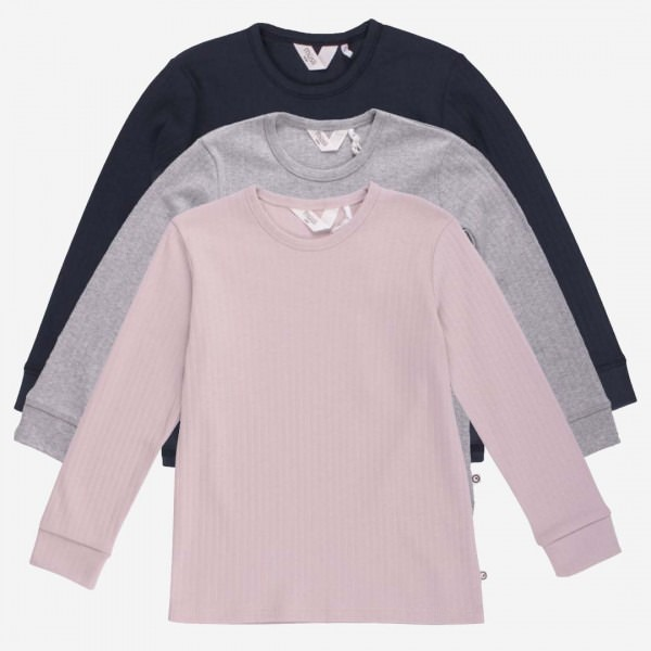 Shirt gerippt