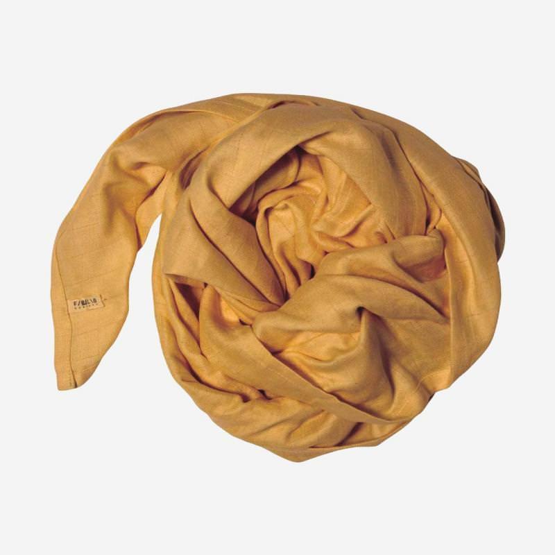 Swaddle Musselin Tuch groß ochre