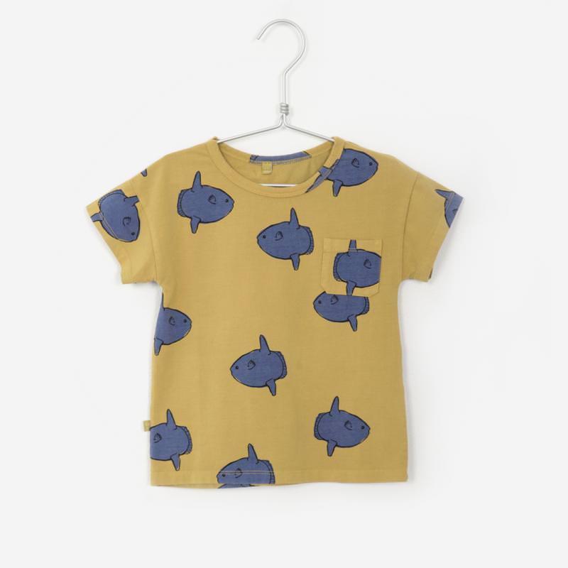 T-Shirt MOONFISH sonnengelb