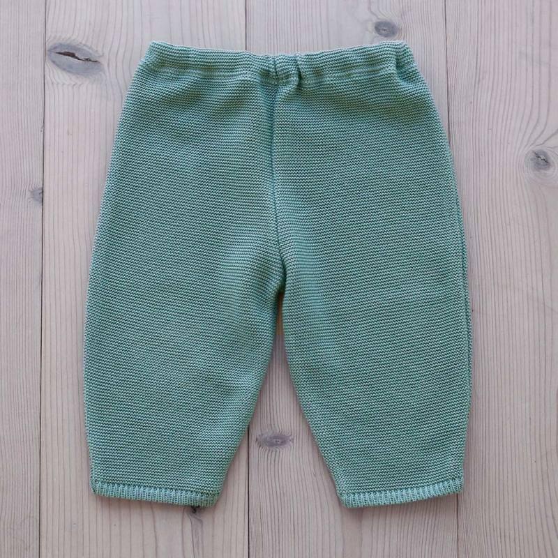 Babyhose Baumwolle green