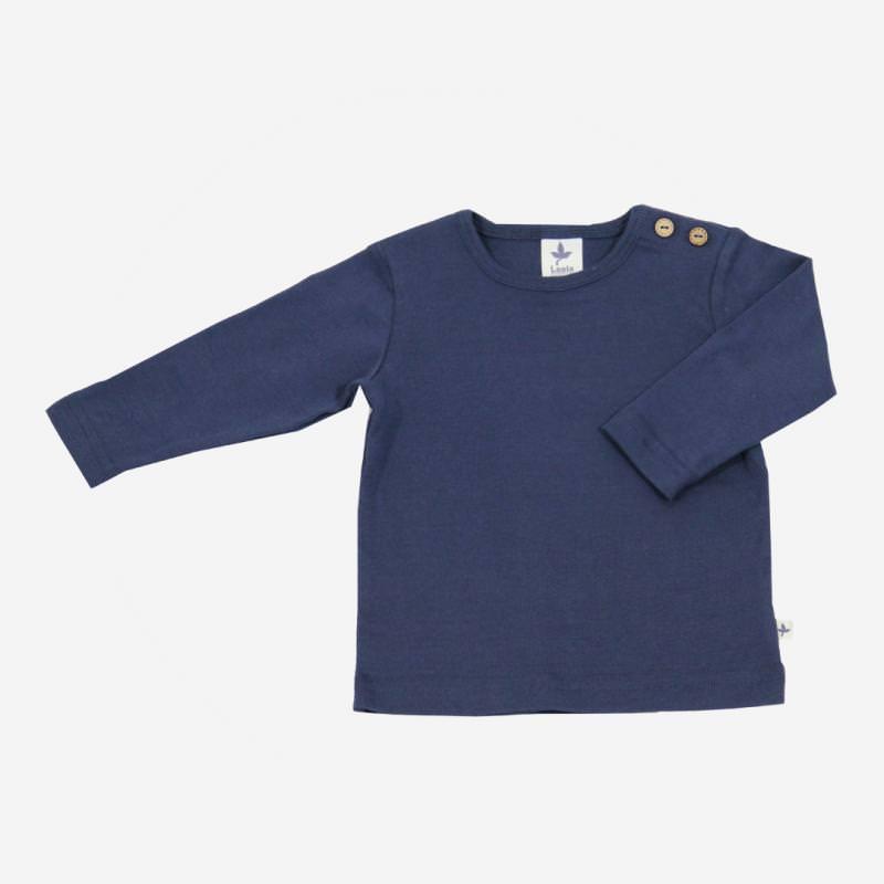 Shirt Baumwolle indigo