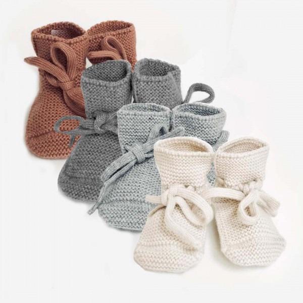 Babyschühchen Merinowolle
