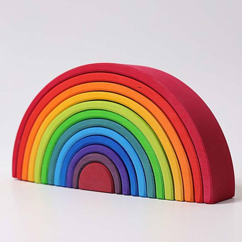 Regenbogen groß 12-teilig