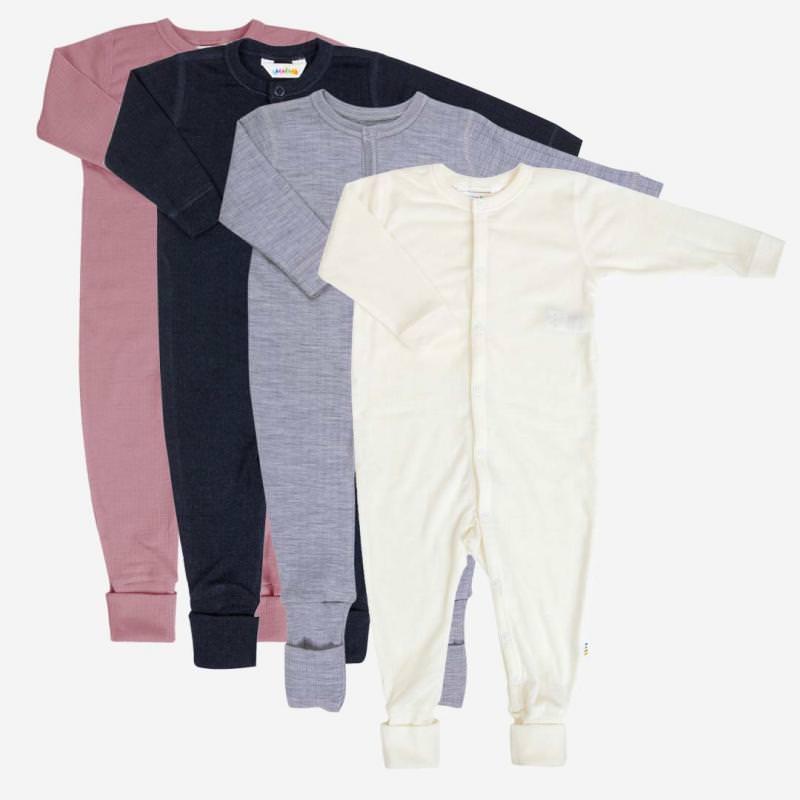 Schlafanzug Merinowolle