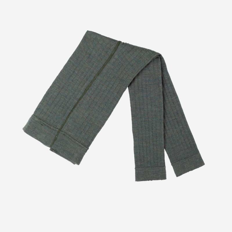 Leggings Wolle/Baumwolle smoke green