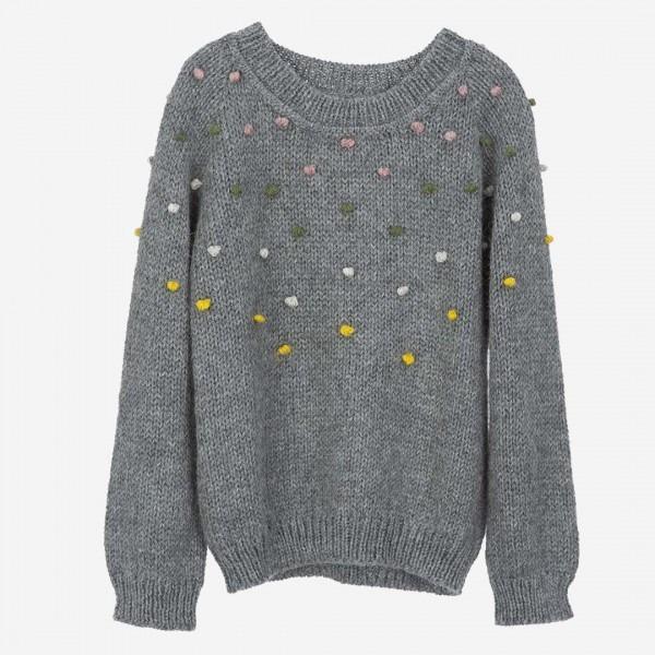 Llama Dot Sweater