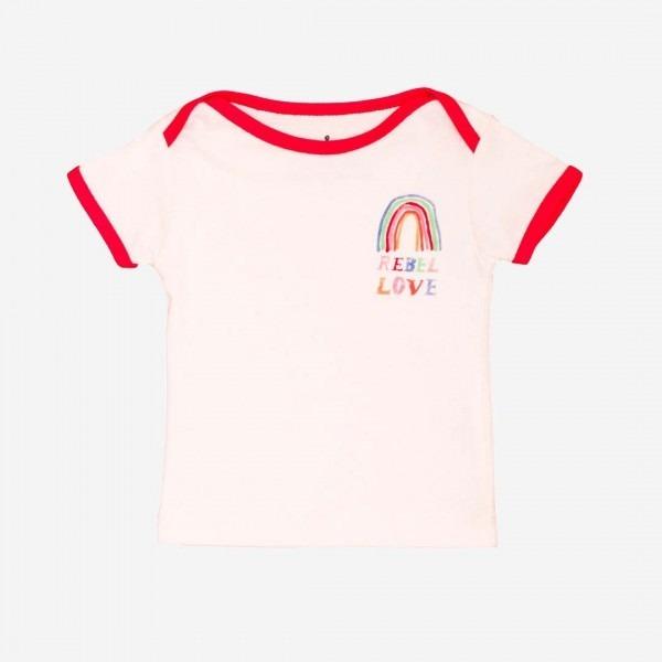 Baby T-Shirt Rebel Love