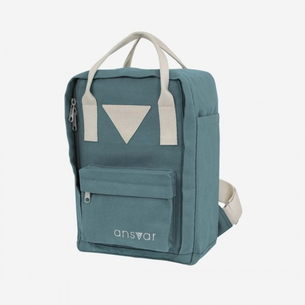 Rucksack Mini Backpack ansvar IV petrol
