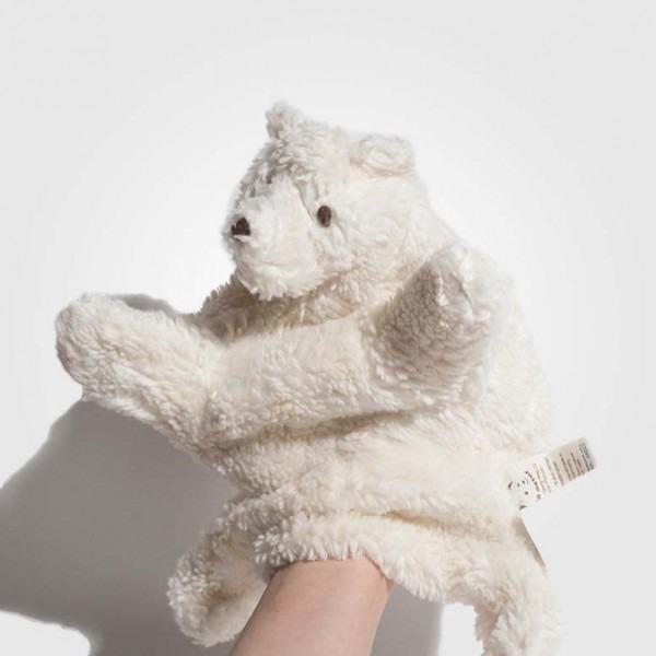 Handpuppe Eisbär