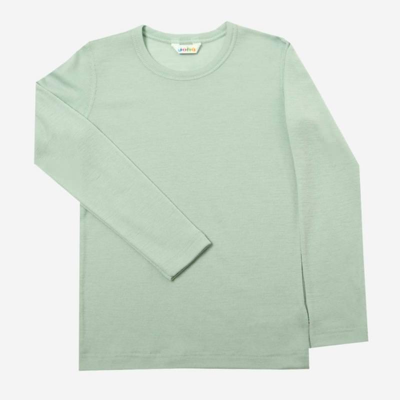Shirt Merinowolle hellgrün