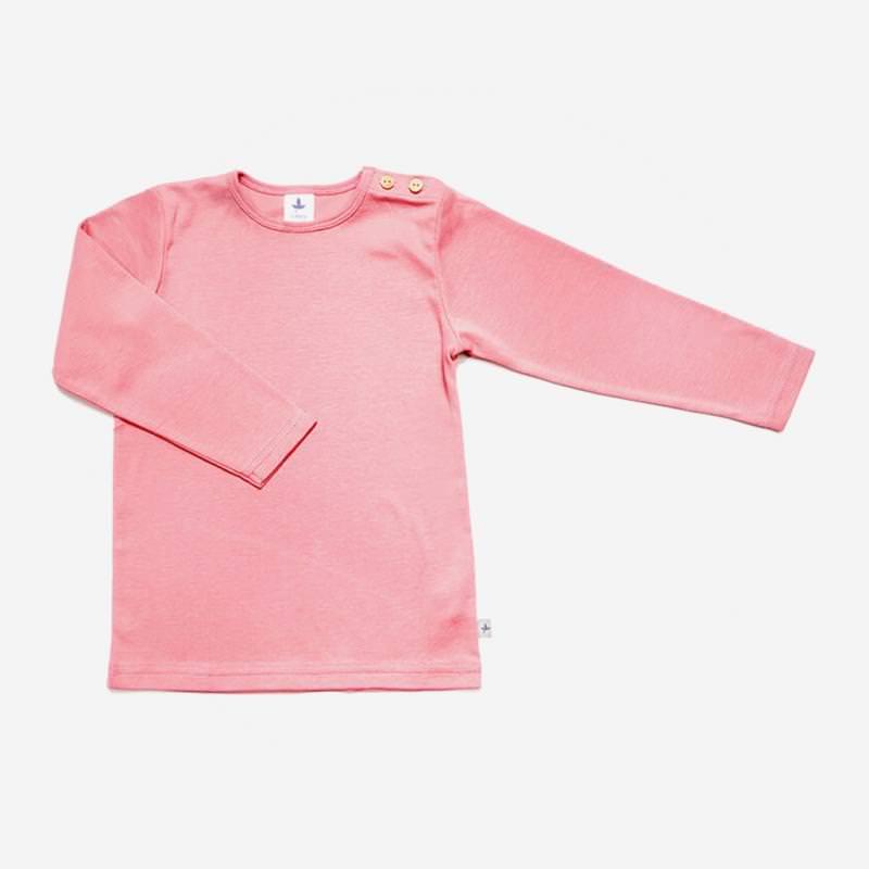 Shirt Baumwolle altrosa