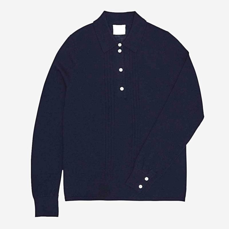 Damen Pullover von FUB aus Wolle in navy