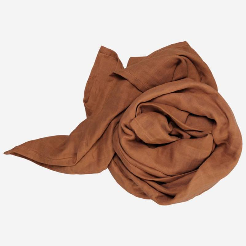 Swaddle Musselin Tuch groß cinnamon